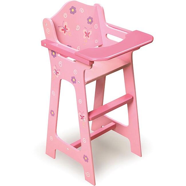 Badger Basket Doll High Chair 13101016 Overstock Com
