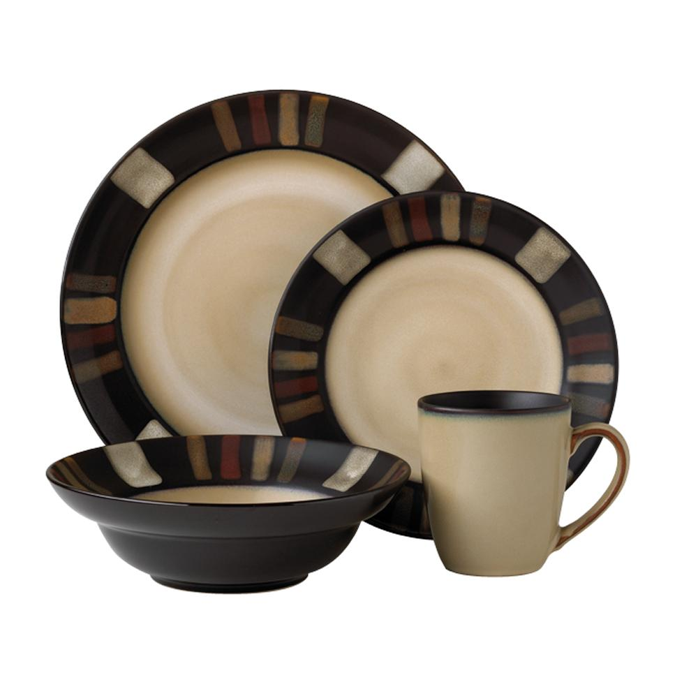 Pfaltzgraff Tahoe 16 Piece Dinnerware Set 13109217