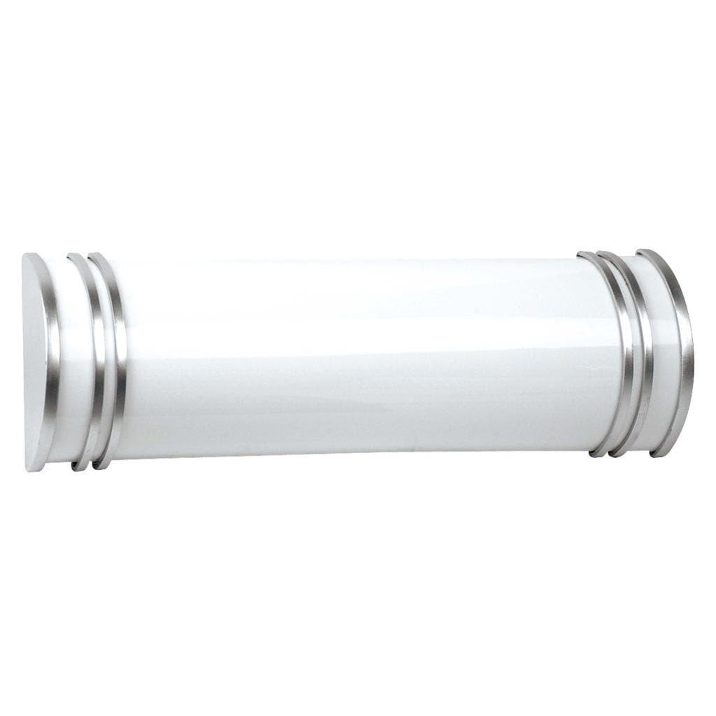 Fluorescent two bulb vanity light fixture 11877341 - Fluorescent bathroom lighting fixtures ...