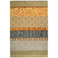 Safavieh Handmade Rodeo Drive Bohemian Collage Multicolored Wool Rug - 7'6 x 9'6