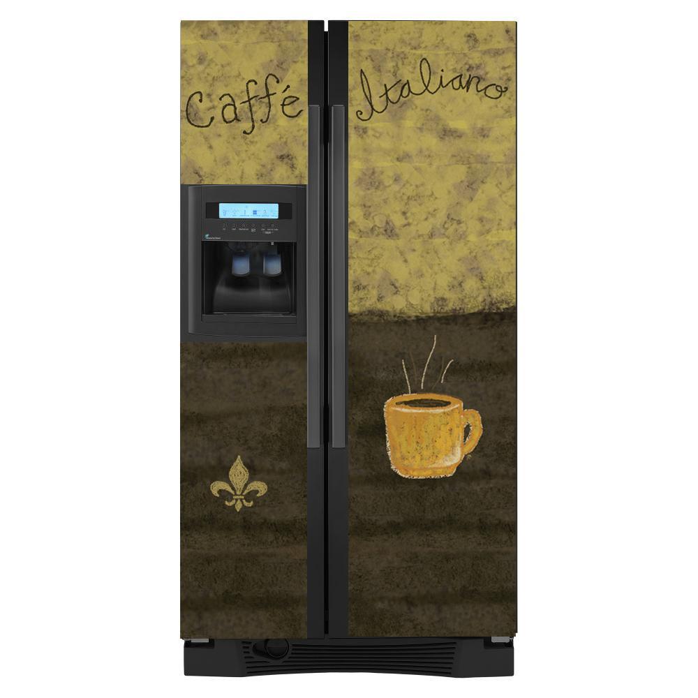 Appliance Art Caffe Refrigerator Cover 13115629