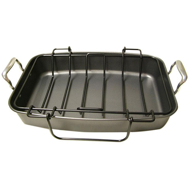 Le Chef Professional Nonstick 17 5 Inch Roasting Pan With