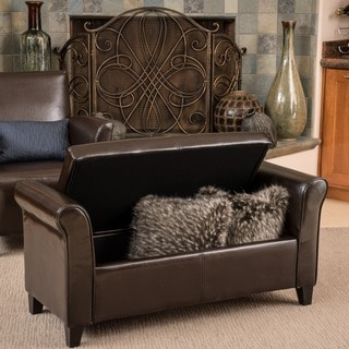 Christopher Knight Home Chatsworth Brown Grey Fabric