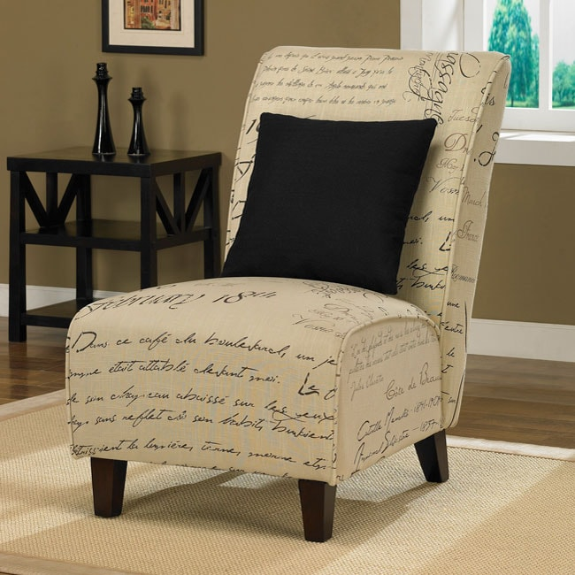 Tapered Signature Chair With Pillow 13130119 Overstock