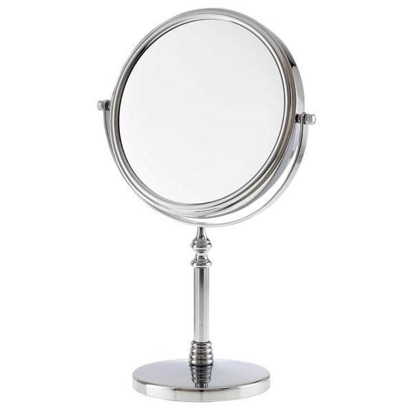 Danielle 1x 10x Chrome Sculpted Stem Vanity Mirror