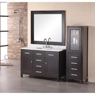 Design Element Cascade Espresso Single Sink Bathroom