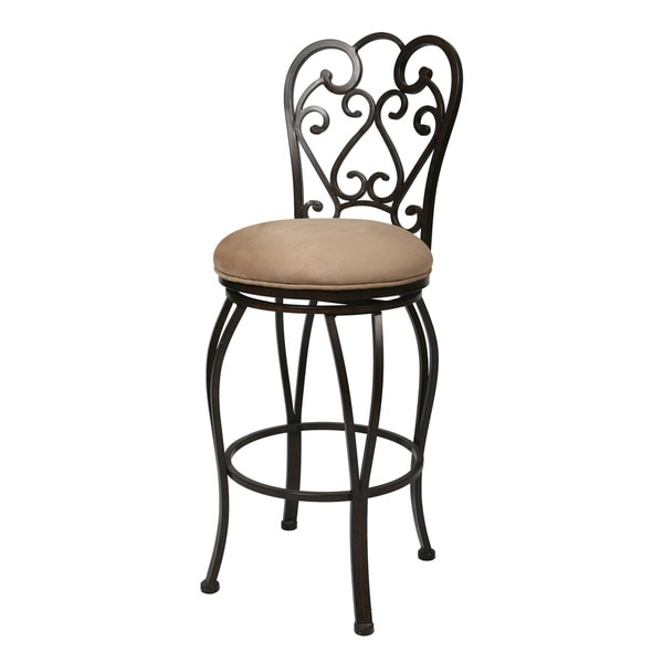 Magnolia 30 Inch Swivel Bar Stool 13269492 Overstock