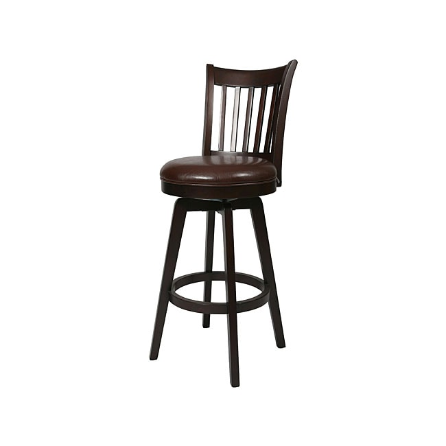 woodhaven 30 inch swivel bar stool 13277164 shopping great deals on bar stools. Black Bedroom Furniture Sets. Home Design Ideas