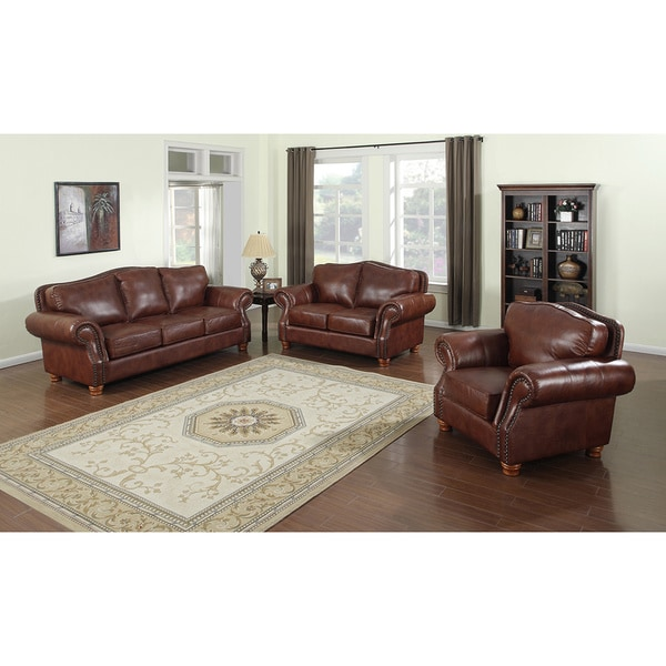 Furniture Exquisite Cheap Living Room Furniture Sets For: Brandon Distressed Whiskey Italian Leather Sofa, Loveseat