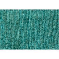 Hand Woven Blue Jute Rug 8 X 10 13293443 Overstock