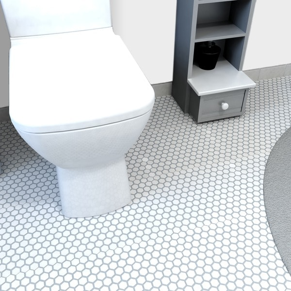 Somertile 10 25x11 75 In Victorian Hex 1 In White