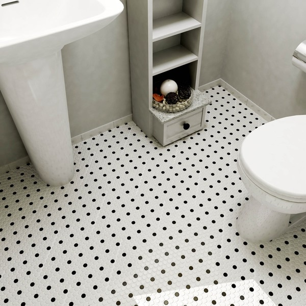 Somertile 9 875x11 5 In Victorian Penny 3 4 In Matte White