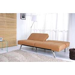 Jacksonville Camel Foldable Futon Sleeper Sofa Bed