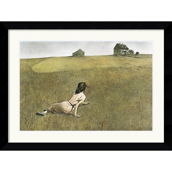 Andrew Wyeth Christina S World Framed Art Print