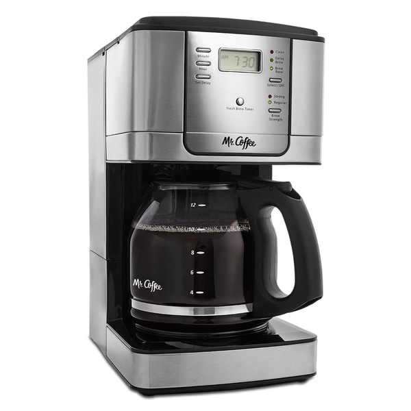 Mr Coffee Jwx31 Np Stainless Steel 12 Cup Programmable