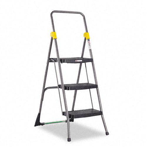 Cosco Commercial 3 Step Folding Step Ladder 13337196