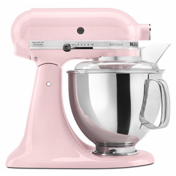 Kitchenaid Rrk150pk Pink 5 Quart Artisan Tilt Head Stand