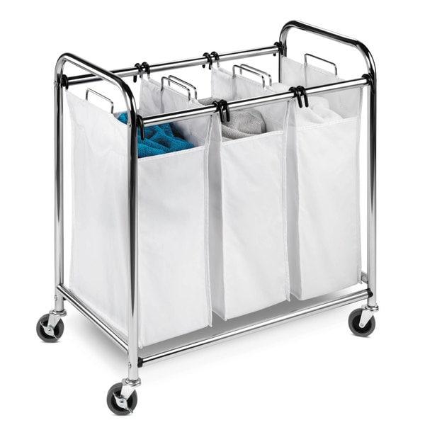 Honey Can Do Srt 01235 Triple Laundry Sorter 13348259