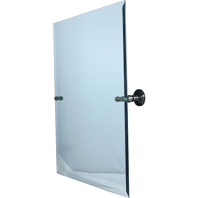 Bathroom Tilt Mirror: Large Rectangular Tilt Frameless Bathroom Mirror With