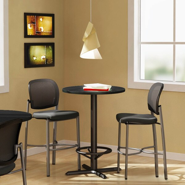 Mayline Bistro Bar Height 30 Inch Round Table 13360688