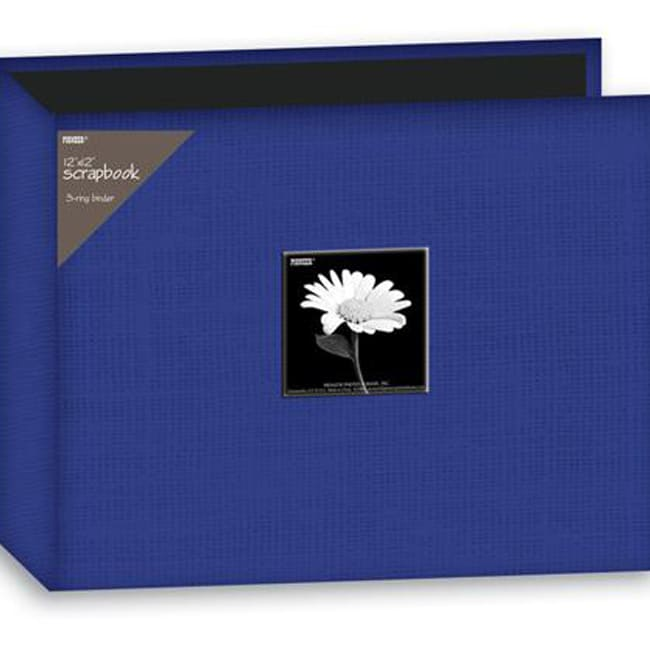 Pioneer 12x12-inch Cobalt Blue 3-Ring Memory Book Binder