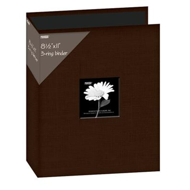 Pioneer 8.5x11-inch Chocolate Brown 3-Ring Memory Book