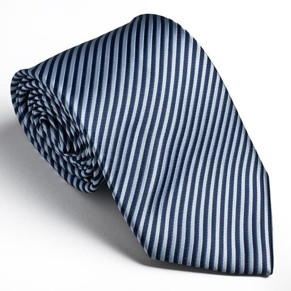 Platinum ties mens striped blue cookie tie cba578a6 a47a 4a65 94e7 c2a8ed89bd7b 600