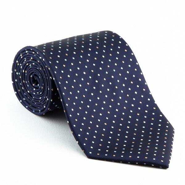 Platinum ties mens patterned blue diplomat tie fb067768 12f6 4f58 8b37 063a800eff00 600