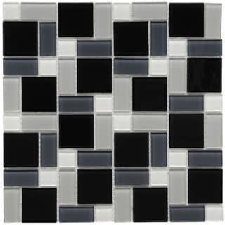 Tile | Overstock.com: Buy Floor Tiles, Backsplash Tiles, & Wall ... - Black White Ceramic Tile