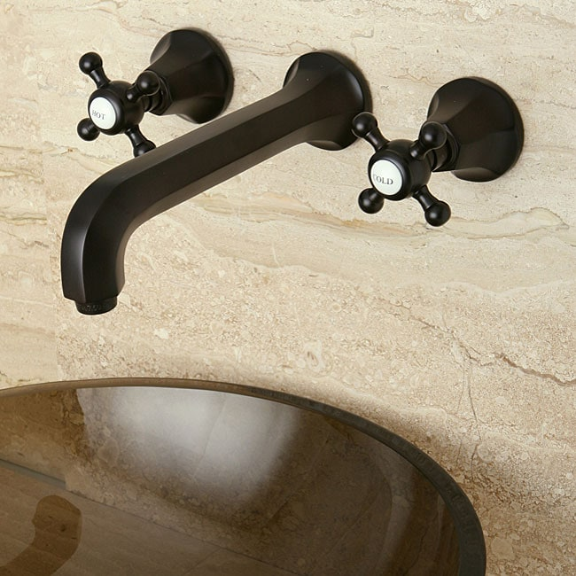 Metropolitan Oil Rubbed Bronze Wall Mount Vessel Sink