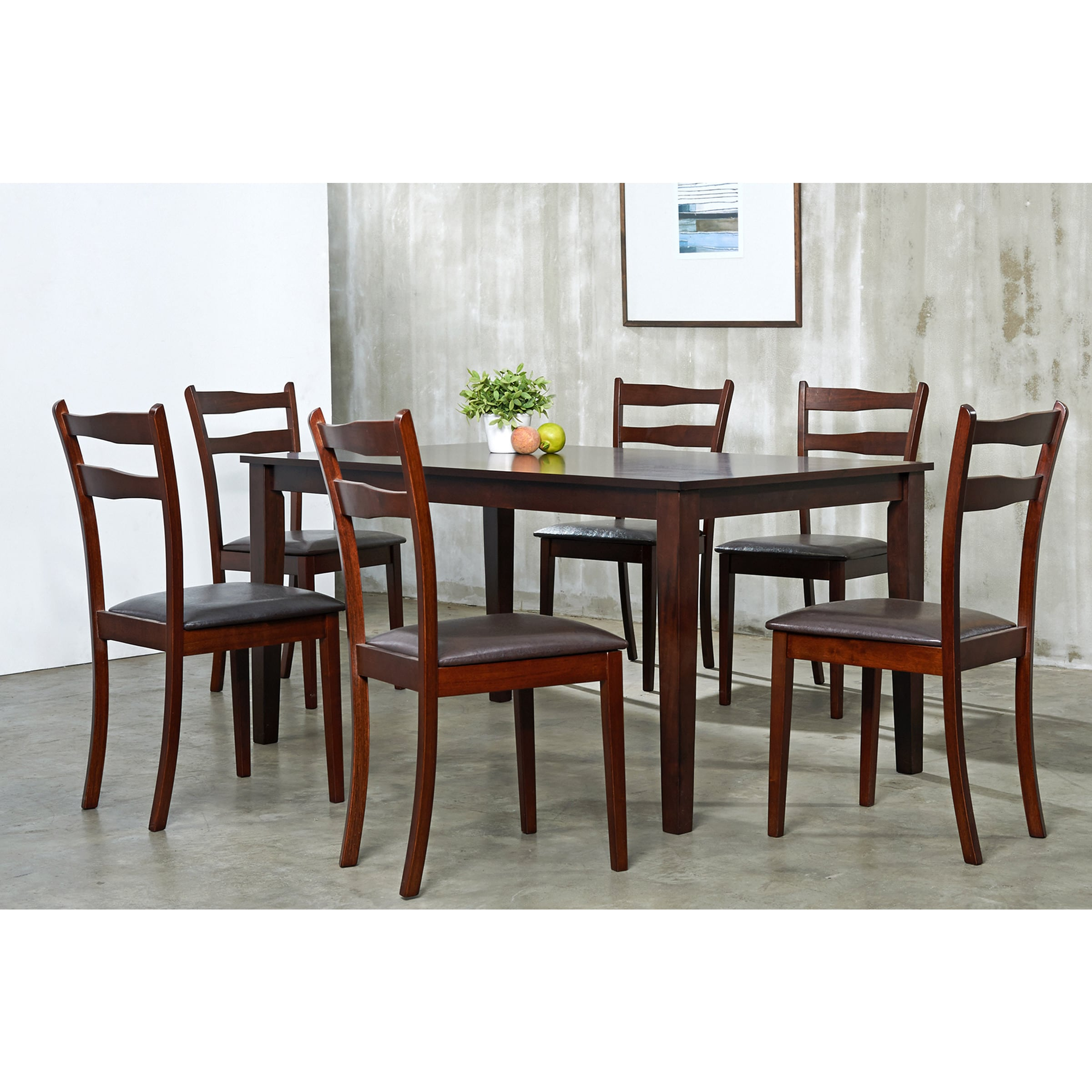 Discount Dining Room Sets Free Shipping: Callan 7-piece Dining Room Furniture Set