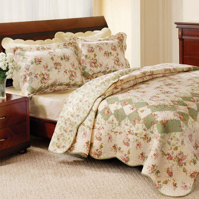 Greenland Home Fashions Bliss Ivory Full Queen Size 3