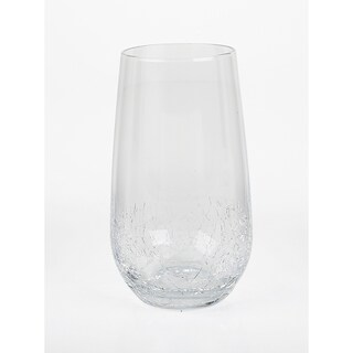 14 Ounce Double Old Fashioned Bubble Glasses Set Of 4