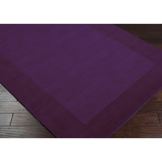 Safavieh Palazzo Black Purple Over Dyed Traditional