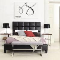 Fenton Column Upholstered Bed by iNSPIRE Q Modern