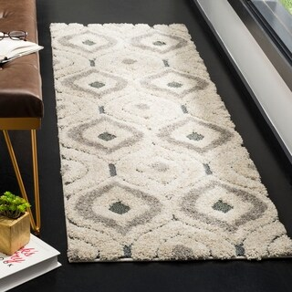 Safavieh Handmade Soho Burst Beige New Zealand Wool Rug 7