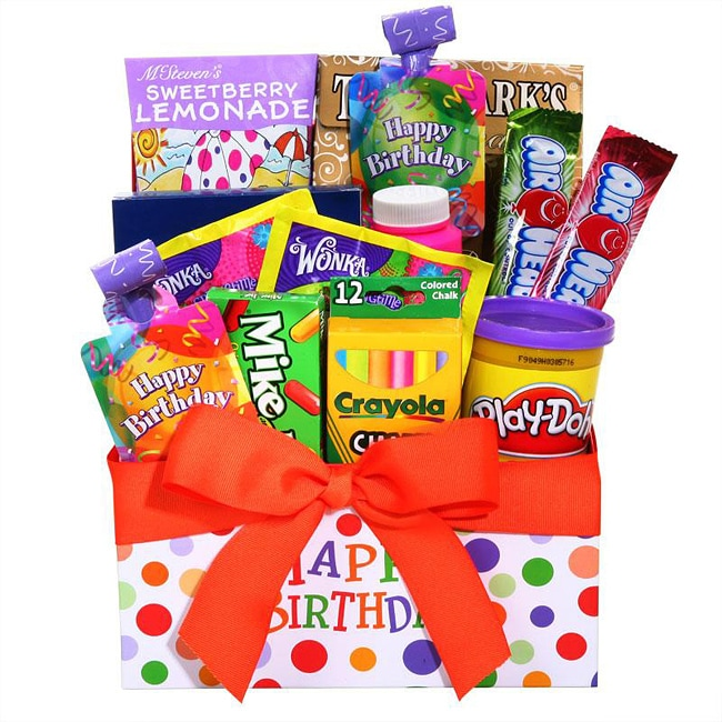 Alder Creek Children's Happy Birthday Gift Box - Overstock ...