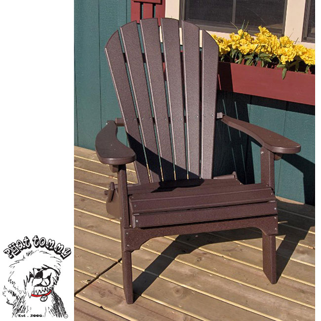 forever phat tommy recycled deluxe folding adirondack chair mehrgan