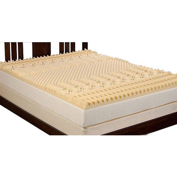 Select Luxury 3 Inch Queen King Size Memory Foam 7 Zone