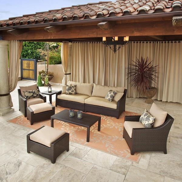Rst Delano 7 Piece Outdoor Sofa Seating Set 13443385