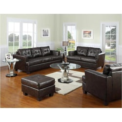 Rialto Teal Bonded Leather Upholstery Chair 15844392