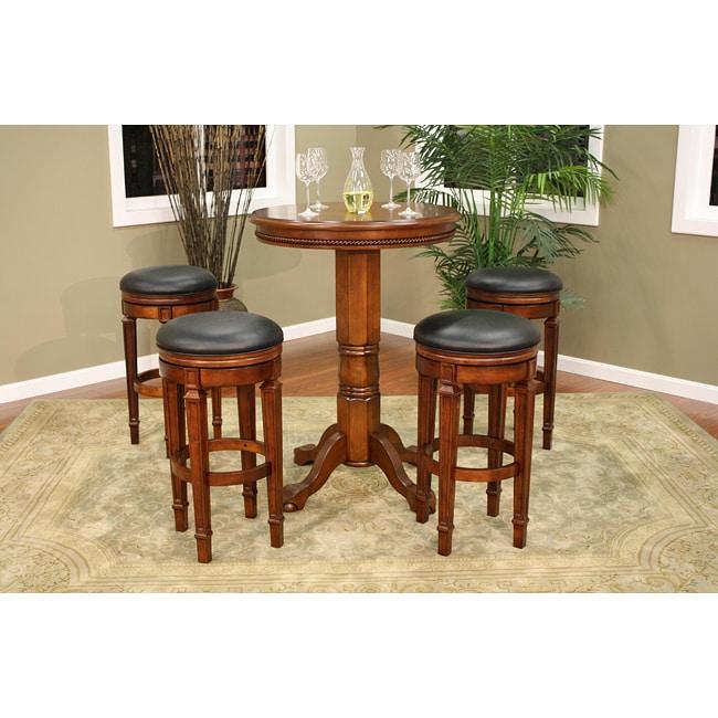 Overstock Bar Table: Avalon Pub Table/ Stool Set