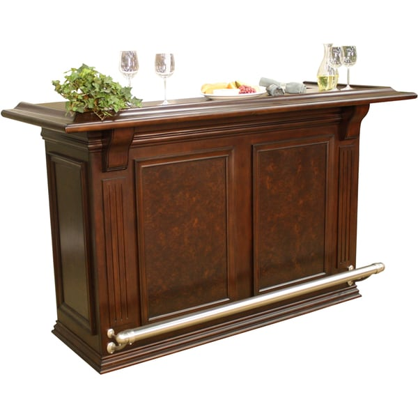 Wood Home Bar: Willow 74-inch Wood Home Bar