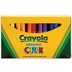 crayola assorted color 24 piece art chalk set overstock shopping big discounts on crayola. Black Bedroom Furniture Sets. Home Design Ideas