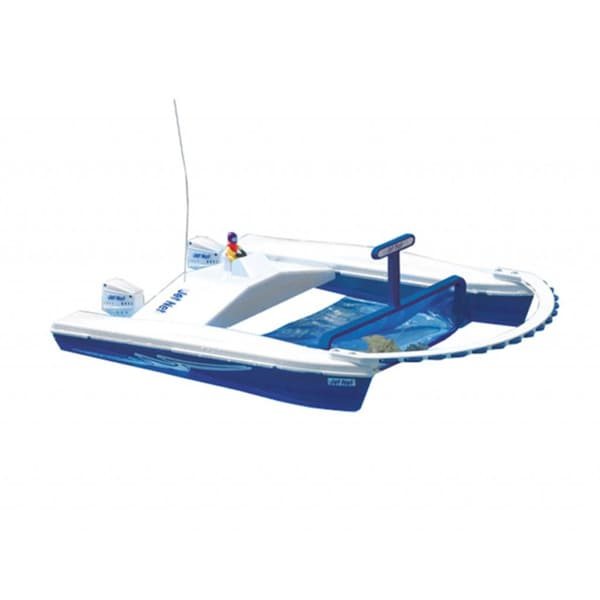 Dunn Rite Jet Net Boat Pool Skimmer W Remote Control