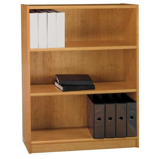 Universal 3 Shelf 48 Inch Bookcase Overstock Shopping The Best Prices On Bush Book Amp Display