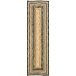 Safavieh Handwoven Indoor/Outdoor Reversible Multicolor Braided Casual Rug - 2'6 x 4'