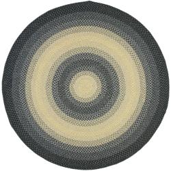 Smithfield Green Indoor Outdoor Braided Rug 8 Round