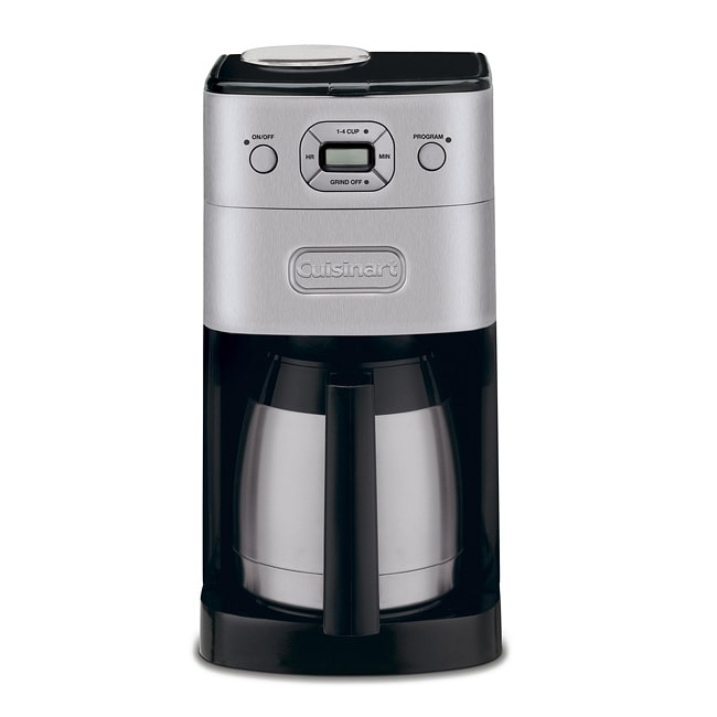 Automatic Grind And Brew Coffee Maker Cuisinart DGB-650BCFR Grind-and-Brew Thermal 10-Cup ...