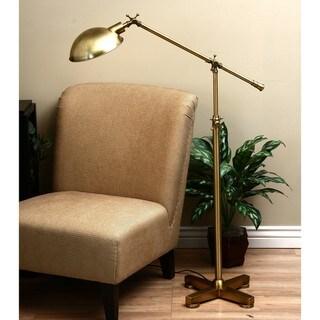 Brass Pharmacy Floor Lamp Overstock Shopping Great Deals On Floor Lamps